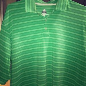 Green golf shirt by BOLLE'